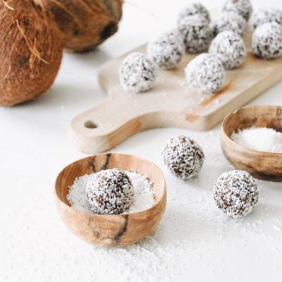 Power balls au chocolat & noix de coco