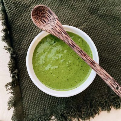 Sauce pesto coco & ail des ours
